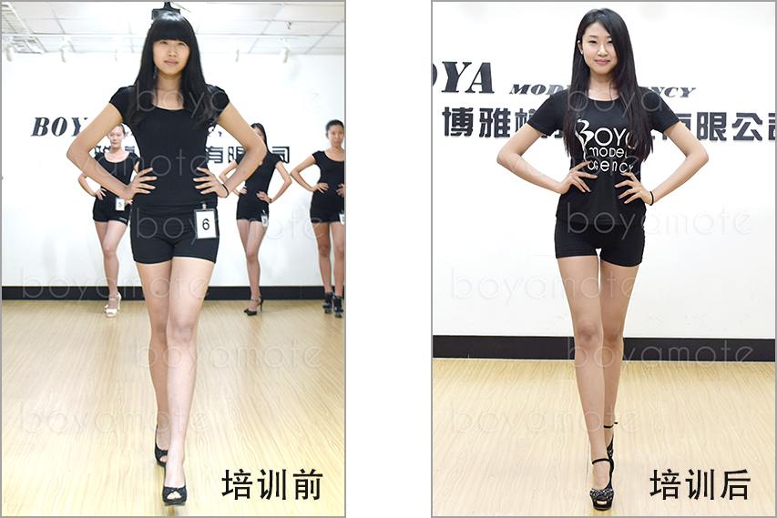 2015年韩潇 入学档案照,博雅模特特有的气质蜕变训练, 成功的为学生蜕变了形象, 塑造了完美的身材, 为学生的职业生涯打下了良好的基础。